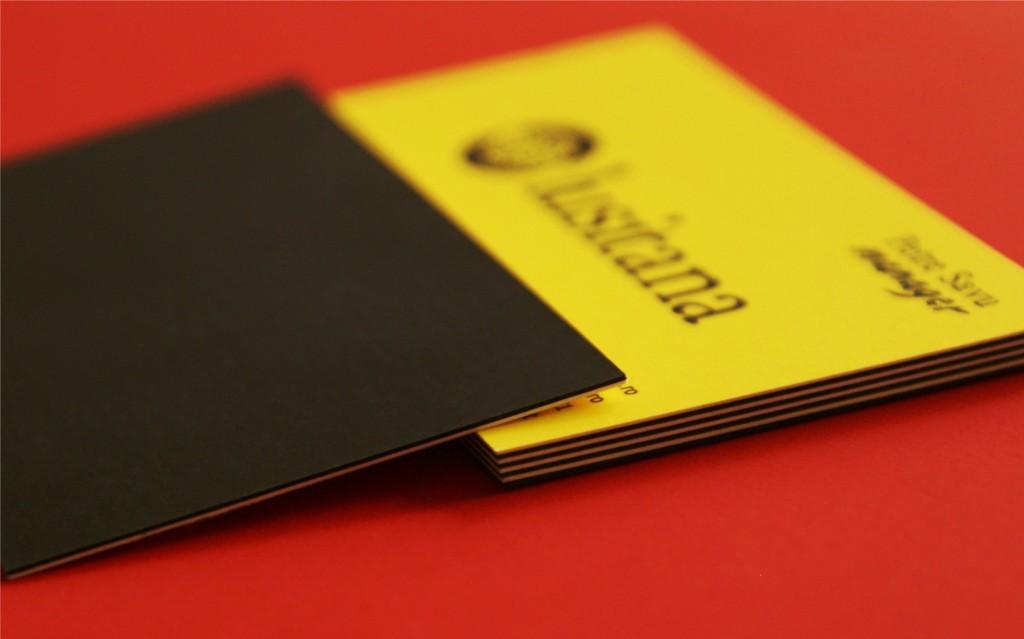Carton multistrat - negru galben