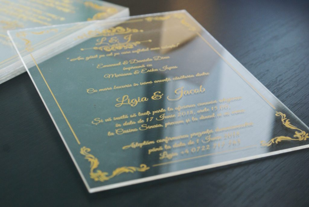 Invitatii De Nunta De Lux Tipomedia Tipografie